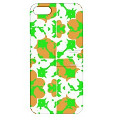 Graphic Floral Seamless Pattern Mosaic Apple iPhone 5 Hardshell Case with Stand