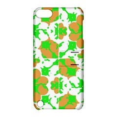 Graphic Floral Seamless Pattern Mosaic Apple iPod Touch 5 Hardshell Case with Stand