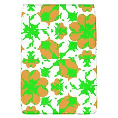 Graphic Floral Seamless Pattern Mosaic Flap Covers (L)
