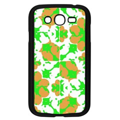 Graphic Floral Seamless Pattern Mosaic Samsung Galaxy Grand DUOS I9082 Case (Black)