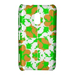 Graphic Floral Seamless Pattern Mosaic Nokia Lumia 620
