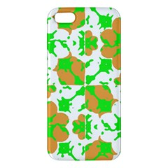 Graphic Floral Seamless Pattern Mosaic iPhone 5S/ SE Premium Hardshell Case