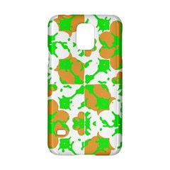 Graphic Floral Seamless Pattern Mosaic Samsung Galaxy S5 Hardshell Case