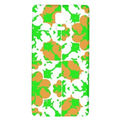 Graphic Floral Seamless Pattern Mosaic Galaxy Note 4 Back Case