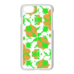 Graphic Floral Seamless Pattern Mosaic Apple iPhone 7 Seamless Case (White)