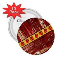 Wood And Jewels 2 25  Buttons (10 Pack)