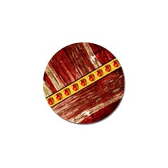 Wood And Jewels Golf Ball Marker