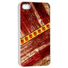 Wood And Jewels Apple Iphone 4/4s Seamless Case (white)