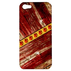 Wood And Jewels Apple Iphone 5 Hardshell Case