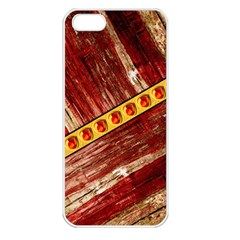 Wood And Jewels Apple Iphone 5 Seamless Case (white)