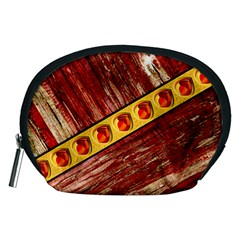 Wood and jewels Accessory Pouches (Medium)