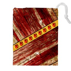 Wood And Jewels Drawstring Pouches (xxl)