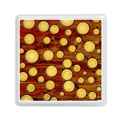 Wood And Gold Memory Card Reader (square)