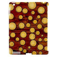 Wood and gold Apple iPad 3/4 Hardshell Case (Compatible with Smart Cover)