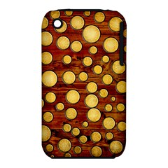 Wood And Gold Iphone 3s/3gs