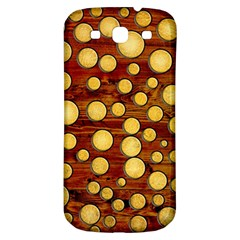 Wood And Gold Samsung Galaxy S3 S Iii Classic Hardshell Back Case