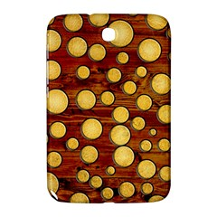 Wood And Gold Samsung Galaxy Note 8 0 N5100 Hardshell Case