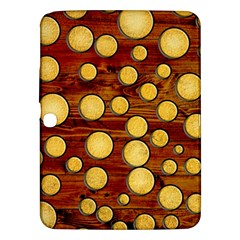 Wood And Gold Samsung Galaxy Tab 3 (10 1 ) P5200 Hardshell Case