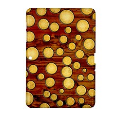 Wood and gold Samsung Galaxy Tab 2 (10.1 ) P5100 Hardshell Case
