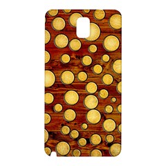 Wood and gold Samsung Galaxy Note 3 N9005 Hardshell Back Case