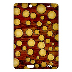 Wood And Gold Amazon Kindle Fire Hd (2013) Hardshell Case