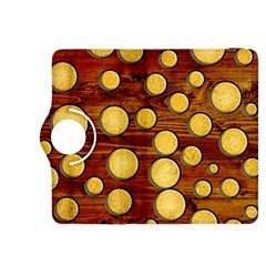 Wood and gold Kindle Fire HDX 8.9  Flip 360 Case