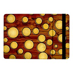 Wood And Gold Samsung Galaxy Tab Pro 10 1  Flip Case