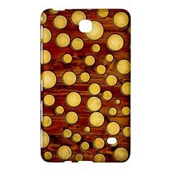 Wood And Gold Samsung Galaxy Tab 4 (7 ) Hardshell Case