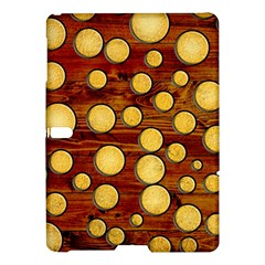Wood and gold Samsung Galaxy Tab S (10.5 ) Hardshell Case