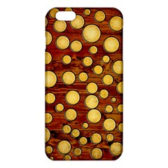Wood and gold iPhone 6 Plus/6S Plus TPU Case