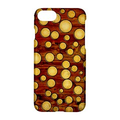 Wood And Gold Apple Iphone 7 Hardshell Case