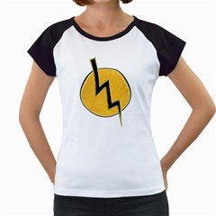 Lightning bolt Women s Cap Sleeve T