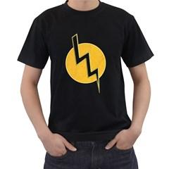 Lightning Bolt Men s T Shirt (black)