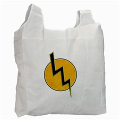 Lightning bolt Recycle Bag (Two Side)