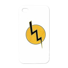 Lightning Bolt Apple Iphone 4 Case (white)
