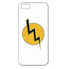 Lightning Bolt Apple Seamless Iphone 5 Case (clear)