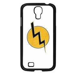 Lightning bolt Samsung Galaxy S4 I9500/ I9505 Case (Black)