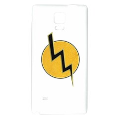 Lightning bolt Galaxy Note 4 Back Case