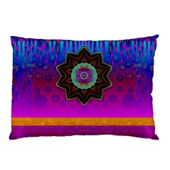 Air And Stars Global With Some Guitars Pop Art Pillow Case