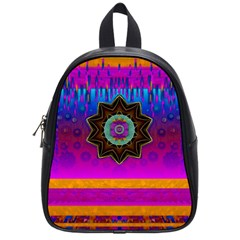 Air And Stars Global With Some Guitars Pop Art School Bags (Small)