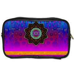 Air And Stars Global With Some Guitars Pop Art Toiletries Bags