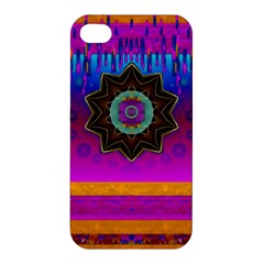 Air And Stars Global With Some Guitars Pop Art Apple iPhone 4/4S Premium Hardshell Case