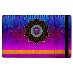 Air And Stars Global With Some Guitars Pop Art Apple iPad 2 Flip Case