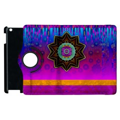 Air And Stars Global With Some Guitars Pop Art Apple Ipad 2 Flip 360 Case