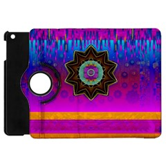 Air And Stars Global With Some Guitars Pop Art Apple Ipad Mini Flip 360 Case