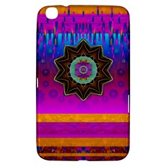 Air And Stars Global With Some Guitars Pop Art Samsung Galaxy Tab 3 (8 ) T3100 Hardshell Case