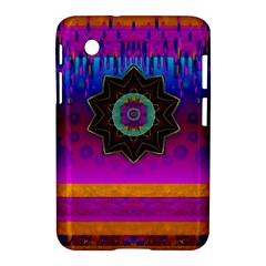 Air And Stars Global With Some Guitars Pop Art Samsung Galaxy Tab 2 (7 ) P3100 Hardshell Case