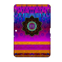 Air And Stars Global With Some Guitars Pop Art Samsung Galaxy Tab 2 (10.1 ) P5100 Hardshell Case