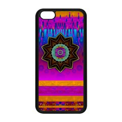 Air And Stars Global With Some Guitars Pop Art Apple iPhone 5C Seamless Case (Black)