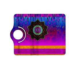 Air And Stars Global With Some Guitars Pop Art Kindle Fire Hd (2013) Flip 360 Case